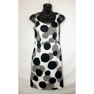 NWOT ANN TAYLOR Sleeveless A-Line Spotted Dress!